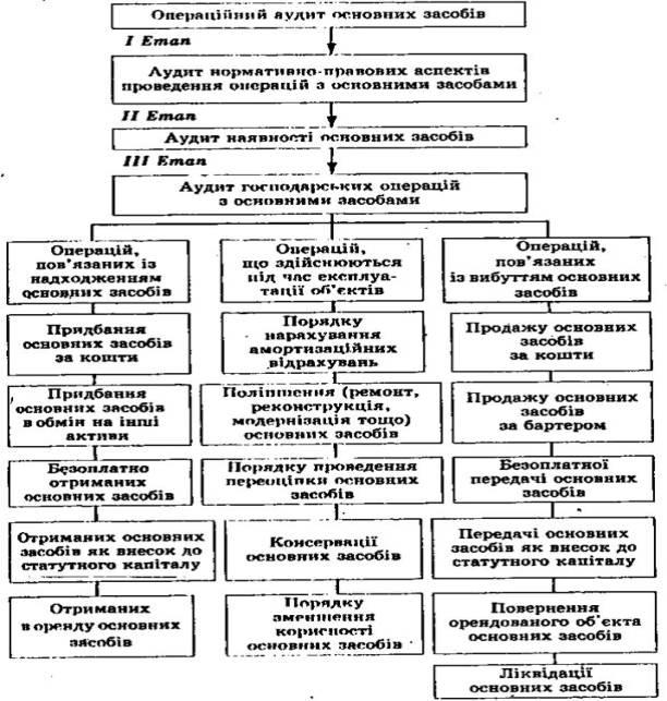 Схема проведення аудиту